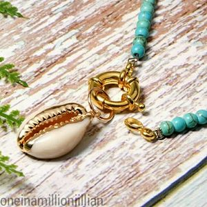 Natural Cowrie Shell Necklace